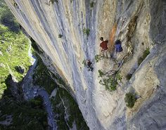 www.boulderingonline.pl Rock climbing and bouldering pictures and news Verdon Gorge, birthp