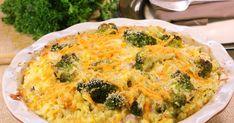 A rakott brokkoli tartalmas egytálétel, főleg csirkével felturbózva. Ha maradt hétvégéről sült hús, azt is bátran felhasználhatod. Spinach Cheese Dip, Chicken Broccoli Rice, Cheesy Chicken, Macaroni And Cheese, Good Food, Food And Drink, Veggies, Zeller, Meals
