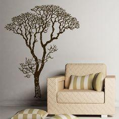 Bare Tree decorative wall... #brown #design  https://www.facebook.com/dazzlemedeals