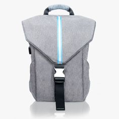 #VandraGrey Work out before going to work – bring only Vandra Grey Backpacks #Vandracollections #Bag