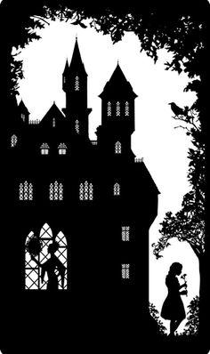 The Guardian Great Fairytales by Laura Barrett, via Behance