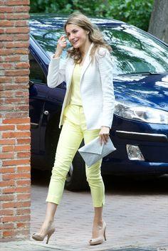 Most stylish royals Letizia Princess of Asturias
