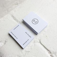 alfiedouglas: a.d. social business cards