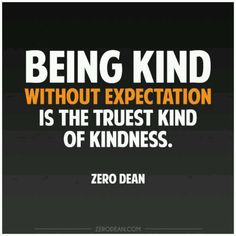 Without expectation