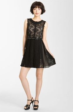 Mcginn 'Georgia' Belted Lace Dress-  Contact me for info