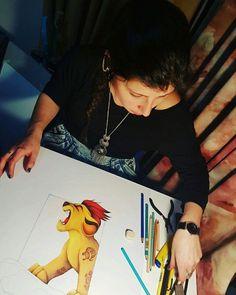 Lion king, cuadro para dormitorio. #lionking #disneycharacters #painting Fashion Art, Style Me, Lion, My Arts, Disney Characters, Painting, Colors, Leo, Lions
