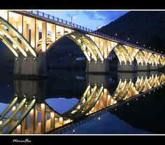 Ponte de Barca D'Alva - Portugal on the border with Spain