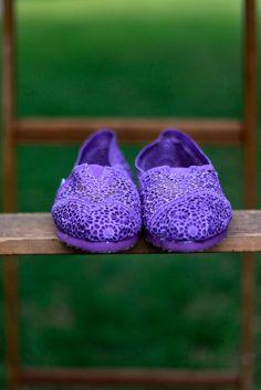 Purple lace TOMS: fun :D