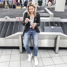 via afterdrk - #latergram from the airport • Being the sweet tooth that I am, I sometimes like to add a bit of flavor to my water while traveling with #KCGO #douaneproof #onthego #lovelemonade #spon emoji