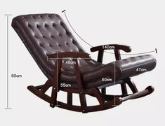Home Decor Furniture, Sofa Furniture, Chesterfield Living Room, Upholstered Rocking Chairs, Clad Home, Wood Arm Chair, Wooden Sofa, Diy Sofa, Sofa Sale