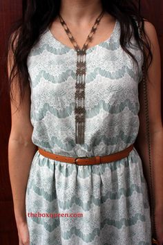 LOVE THIS DRESS!    Stitch Fix Review April 2014 | The Box Queen