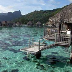 Moorea - a Tahitian island