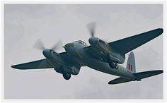 Resent restoration .de Havilland Mosquito by Avspecs in New Zealand