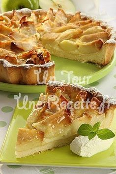 Photo de la recette Tarte aux pommes
