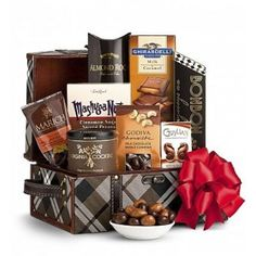 February is Chocolate Lovers Month! Every day is chocolate lovers day for me! Chocolate Delight, Chocolate Sweets, Chocolate Gifts, Chocolate Truffles, Chocolate Lovers, Chocolate Recipes, Gourmet Gift Baskets, Gourmet Gifts, Gourmet Recipes