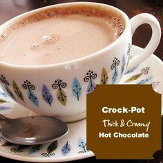 Crocpot hot chocolate