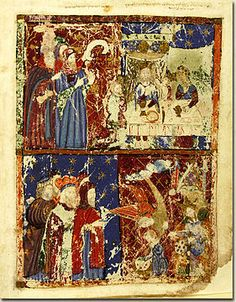 Infància de Moisès. Hagadà Kauffmann, s. XIV