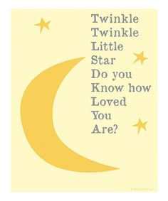 Look at this Biege 'Twinkle Twinkle' Print on #zulily today!