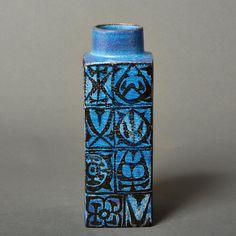 Royal Copenhagen vase nils thorsson baca fajance by northvintage