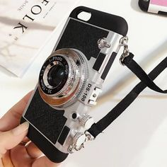 Silicone Case Camera For iPhone 6/6 Plus