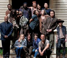 TWD Cast: Season 5 Behind The Scenes