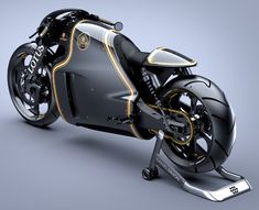 Lotus Motorcycle C-01 is road ready motorbike that features bulky body, the world's first motorcycle that carries the legendary Lotus trademark, it is road ready for action.