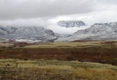 The Beautiful Big Horn Mountains ~ seen from Trapper Creek Road, south of Shell, WY