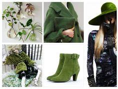 Groene enkellaarzen - My Sweet Shoe #women #girls #shoes #footwear #moodboards #blog #Dutch