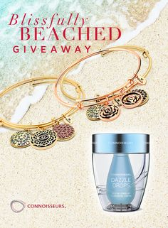 This month we are giving away our top 3 Diamond Dazzle products plus a set of 4 stackable bangle bracelets by Chrysalis, value $175.  http://connoisseurs.com/contest-entry-AU17BbG.htm