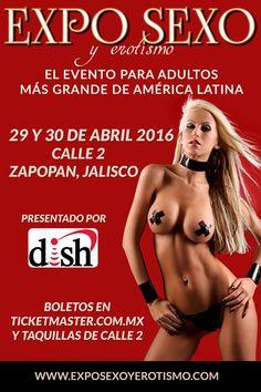 Luego del éxito y el enorme prestigio que Expo Sexo y Erotismo se ha ganado a pulso ante el público mexicano al convertirse en el evento más grande a nivel Latinoamérica especializado en el entretenimiento para adultos, por fin se ha anunciado su llegada a la ciudad de Guadalajara.