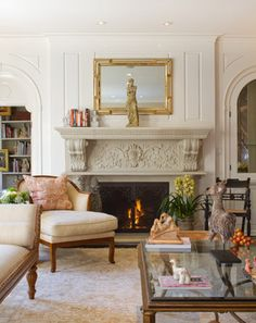 Living Room French Provincial Design, Pictures, Remodel, Decor and Ideas - page 56