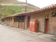 Preciosísima estación de gasolina en Mérida Venezuela