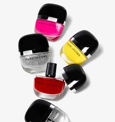 Marc Jacobs Beauty High Shine Lacquers. Like fancy little candies.
