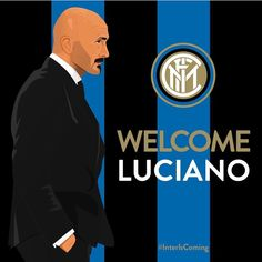 #Welcome Luciano #Spalletti ! #inter #fcim #new #coach #forza #internazionale #mercato