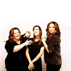 Melissa McCarthy, Kristen Wiig, and Maya Rudolph