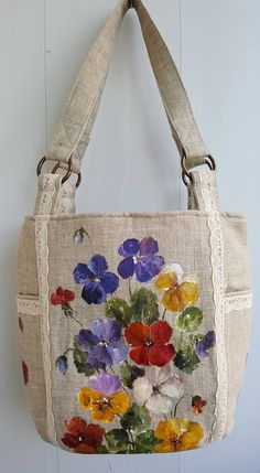 Saint patrick s day poppy flower summer bag gift for mom birthday gift for woman black crossbody bag womens purse poppy montgomery 31 bags – Artofit Diy Sac, Painted Bags, Diy Tote Bag, Embroidery Bags, 31 Bags, Jute Bags, Patchwork Bags, Fabric Bags, Handmade Bags