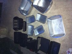 Spray paint bins to coordinate your room & brings new life to plastic bins Painting Plastic, Plastic Bins, Craft Corner, Makeup Organization, School Stuff, Room, Diy, Crafts, Ideas