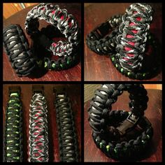Le Royal Corps of Signals Help for Heroes Inspiré Paracord 550 Bracelet
