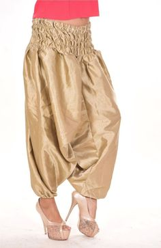 188d7120e1c New Alibaba Harem Casual Pant women s Ladies Plus Size Trousers Baggy Satin  Silk