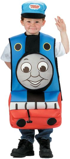 I am keeping this in mind for my youngest who is crazy about trains, especially Thomas! #Halloween