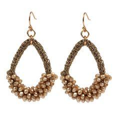 Sehoran 2017New brinco big drop crystal earrings handmade jewelry earrings for woman brincos Pendant Weaving hot sale earring