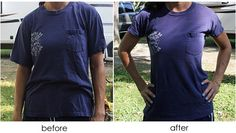 How To Make a Fitted T-Shirt