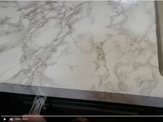 Contact Paper Countertops Full Tutorial And Review - The Nifty Nester Cheap Kitchen Countertops, Diy Concrete Countertops, Counter Edges, Counter Top, Contact Paper, Home Repair, Nifty, Bubbles, Diy Kitchen