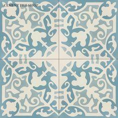 Cement Tile Shop - Encaustic Cement Tile Courtney