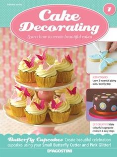 20 best Cake Decorating Magazine images on Pinterest   Petit fours     A Cupcake magazine