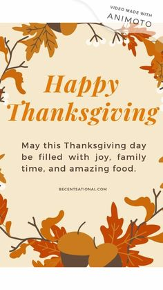 Happy Thanksgiving Quotes!