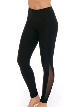 TLF Women's Spring Ultra Black Workout Legging