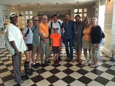 Fam.Gordon on a 7 day Israel tour together with our Tour Guide Eitan Julius