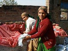 Conserve #India | GlobeIn. Anita and ShalabhAhuja founded Conserve India as an organization that helps reduce trash in Delhi while helping extremely poor women find opportunity. With their life savings, the couple launched an amazing concept that started as a 'green' project but quickly developed into much more.