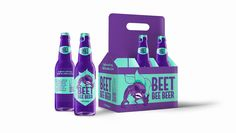 Bee Beer - Illustration and Packaging on Behance